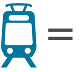icon of one train